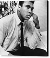Muhammad Ali (1942- ) Canvas Print by Granger