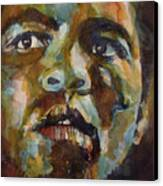 Muhammad Ali   Canvas Print by Paul Lovering