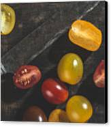 Multicolored Cherry Tomatoes Canvas Print