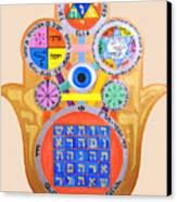 Multiple Solomaic Amulets Canvas Print
