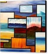 Multiscape Canvas Print