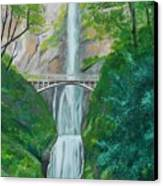 Multonomah Falls Canvas Print