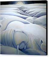 Mural  Winters Embracing Crevice Canvas Print
