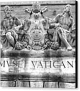 Musei Vaticani Canvas Print by Stefano Senise