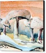 Mushroom Heaven Canvas Print by Mindy Newman