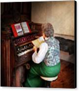Music - Organist - The Lord Is My Shepherd  Canvas Print