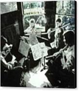Music As Light Canvas Print