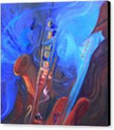 Music For Saxy Canvas Print