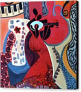 Music Is Love Canvas Print