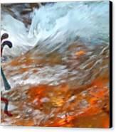 Musical Waters Canvas Print by Terril Heilman