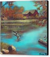 Muskego Lake Canvas Print