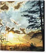 Muskoka Dawn Canvas Print