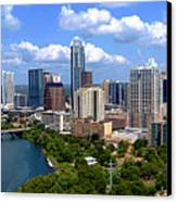 My Austin Skyline Canvas Print