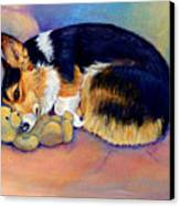 My Baby Pembroke Welsh Corgi Canvas Print