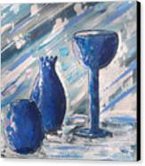 My Blue Vases Canvas Print
