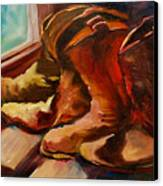 My Favorite Boots Canvas Print