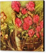 My Garden Of Roses Canvas Print by Fatima Stamato