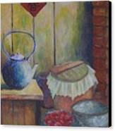 My Grandma's Kitchen Canvas Print