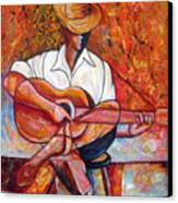 My Guitar Canvas Print