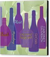 My Kind Of Wine Canvas Print by Tara Hutton