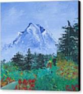 My Mountain Wonder Canvas Print by Jera Sky
