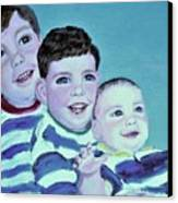 My Three Sons Canvas Print