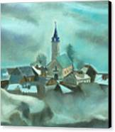 My Village Canvas Print