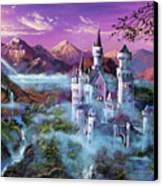 Mystery Castle Canvas Print by David Lloyd Glover