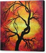 Mystic Firestorm Canvas Print