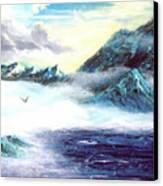 Mystic  Morning Canvas Print