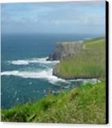 Mystical Cliffs Canvas Print