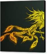 Myths Ablaze Canvas Print by Simon Sturge