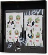 N Y C Kermit Canvas Print