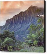 Na Pali Coast Canvas Print by Dave Fleetham - Printscapes