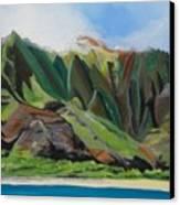 Na Pali Cruise Canvas Print