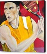 Nadal Canvas Print by Flavia Lundgren