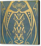 Namaste Reflectograph Canvas Print