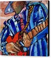 Nameless The Wailer Canvas Print