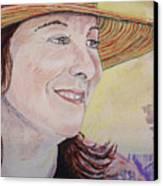 Nancy Sunshine Canvas Print