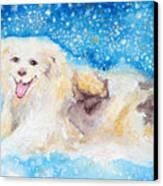 Nanny Bliss Canvas Print