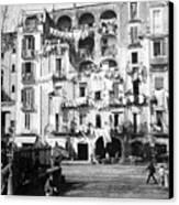 Naples Italy - C 1901 Canvas Print