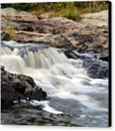 Naraguagus River Canvas Print by Steven Scott