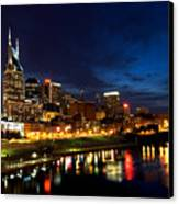 Nashville Skyline Canvas Print by Mark Currier