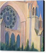 National Cathedral Canvas Print by Don Perino