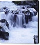 Natural Bridges Falls 01 Canvas Print