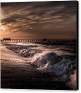 Natures Drama  Canvas Print