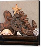 Nautical Still Life Iv Canvas Print