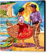 Nazare Portugal Canvas Print