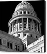 Near Infrared Image Of The Texas State Capitol Canvas Print