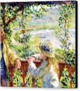 Near The Lake Canvas Print